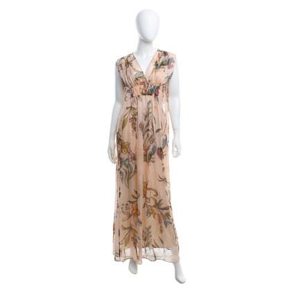 Max & Co zijden jurk met bloemmotief