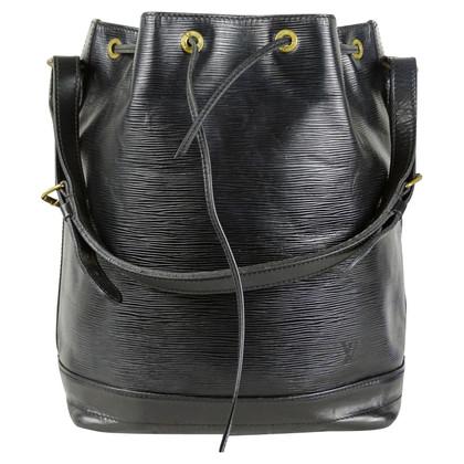 Louis Vuitton Sac Noe Epi Leather Black