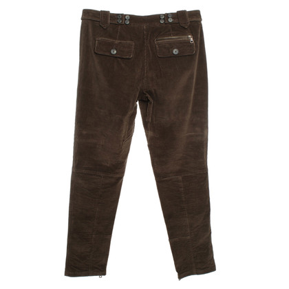 Etro Cord Trousers in Brown