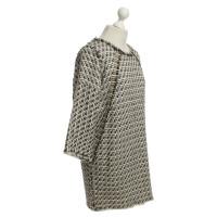 Iro Cotton dress in braided look