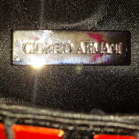 Giorgio Armani Umhängetasche Schwarz Preiswert Online-Shop Zum Verkauf xkLN0O