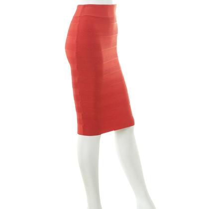 Karen Millen Stretchrock in Rot