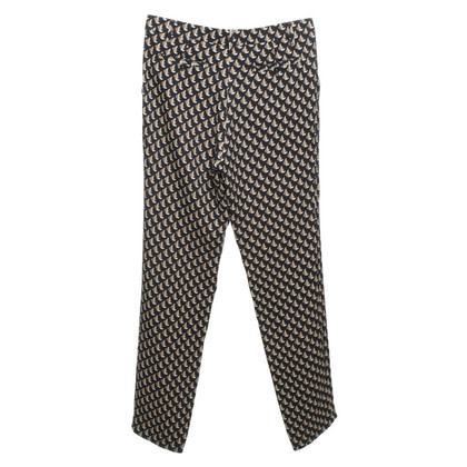 Etro trousers with geometry pattern