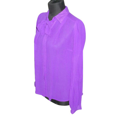 By Malene Birger Silk-button blouse