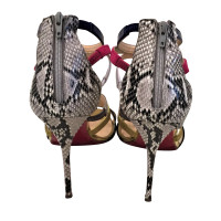 Christian Louboutin Sandals from python leather