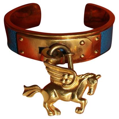 Hermès Schmaler Armreif mit Pferd