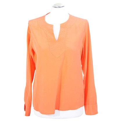 Ralph Lauren Zijden top in oranje