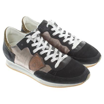 Andere merken Philippe Model - sneakers materiaal mix