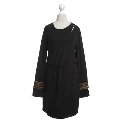 Balmain Wrap zijden jurk
