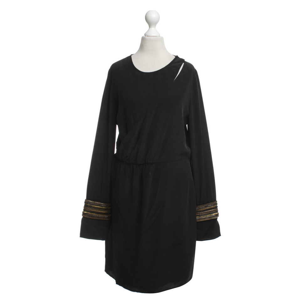 Balmain Wrap silk dress