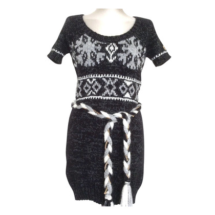 Elisabetta Franchi Dress with chain ceinture