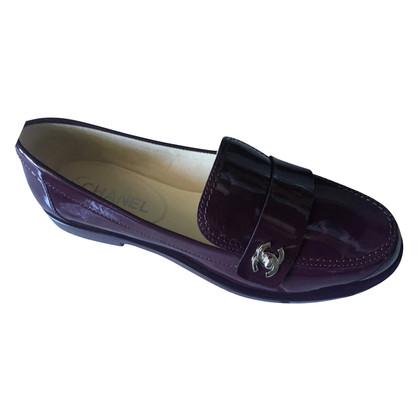 Chanel Slipper in purple