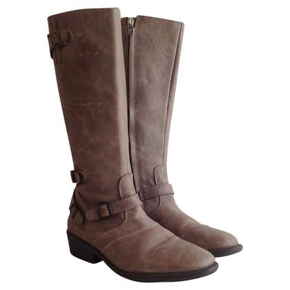 """Belstaff Boots """"Trial Master"""" in Beige"""