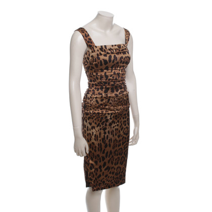 Dolce & Gabbana Dress with animal print