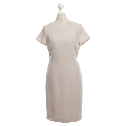 René Lezard Sheath dress in nude