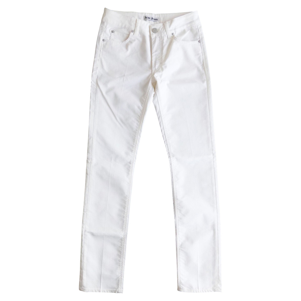 Acne Slim jeans in white