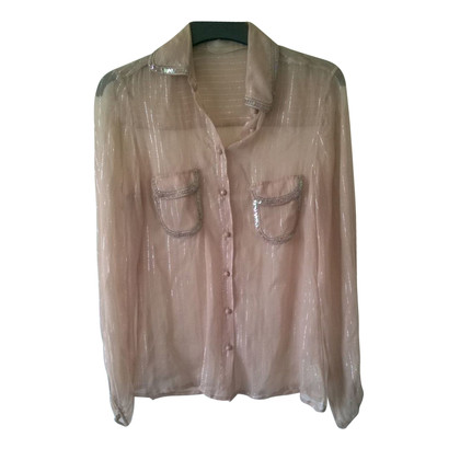 Schumacher Silk blouse in Nude