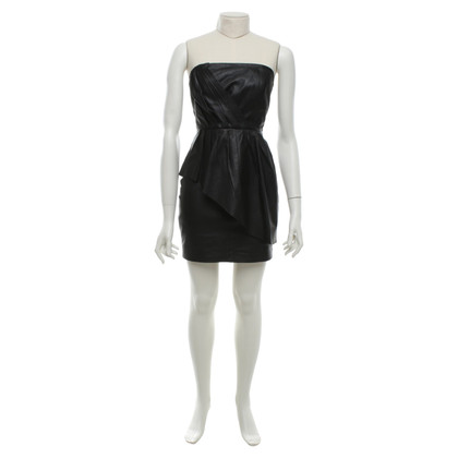 Gestuz Leather dress in black