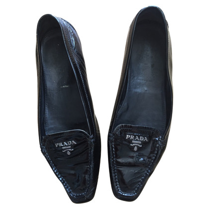 Prada Patent leather slippers