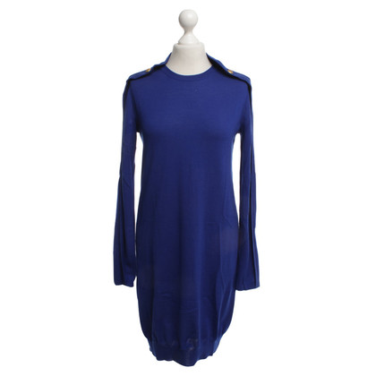 McQ Alexander McQueen Knit dress with gold colored buttons