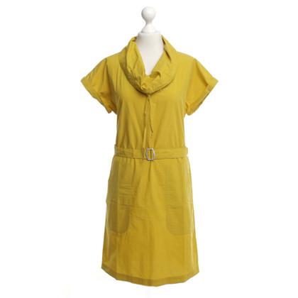 Max Mara Kleid in Gelb
