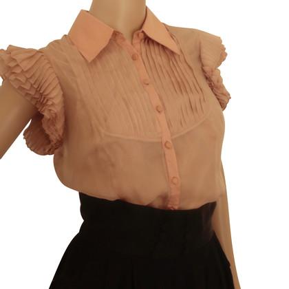 Catherine Malandrino zijden blouse