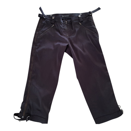 Versace Satin-trousers in 3/4 length