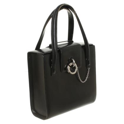 Cartier Black leather handbag