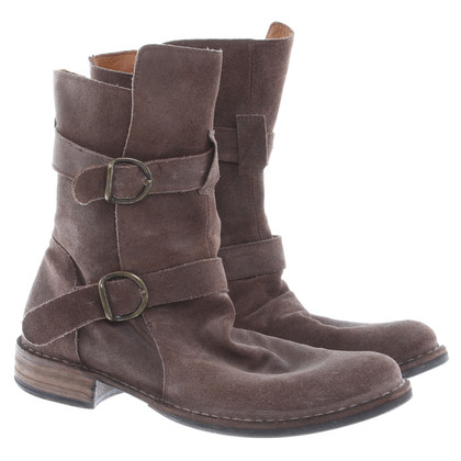 Fiorentini & Baker Ankle boots brown suede