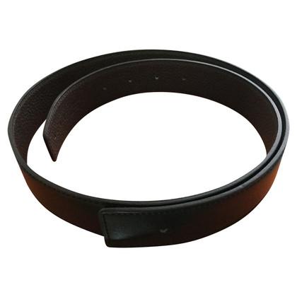 Hermès Togo / Box calf leather belt