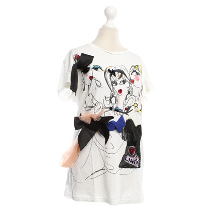 Lanvin for H&M top with motif print