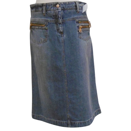 Dolce & Gabbana Denim skirt in used look