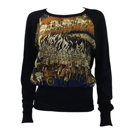 Hermès Pullover met zijde