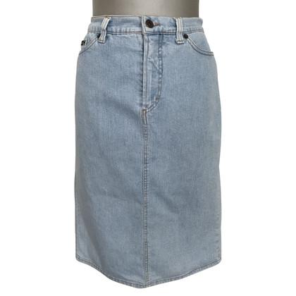 Dolce & Gabbana Denim skirt in blue
