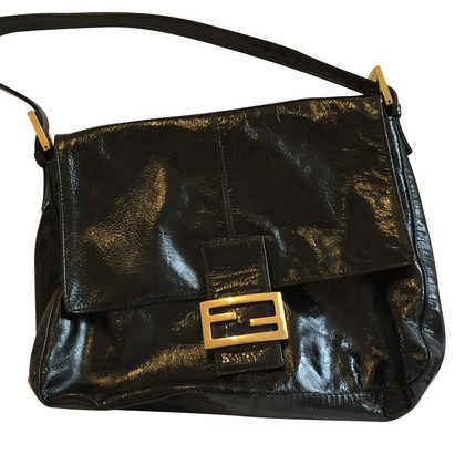 Fendi Handtas Patent Leather