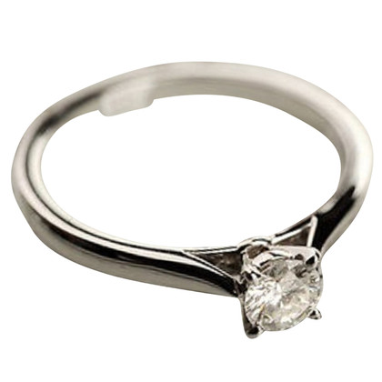 Cartier Platina ring met diamanten