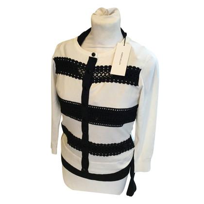 Karen Millen Vest in zwart / White
