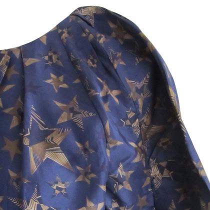 See by Chloé abito di seta blu
