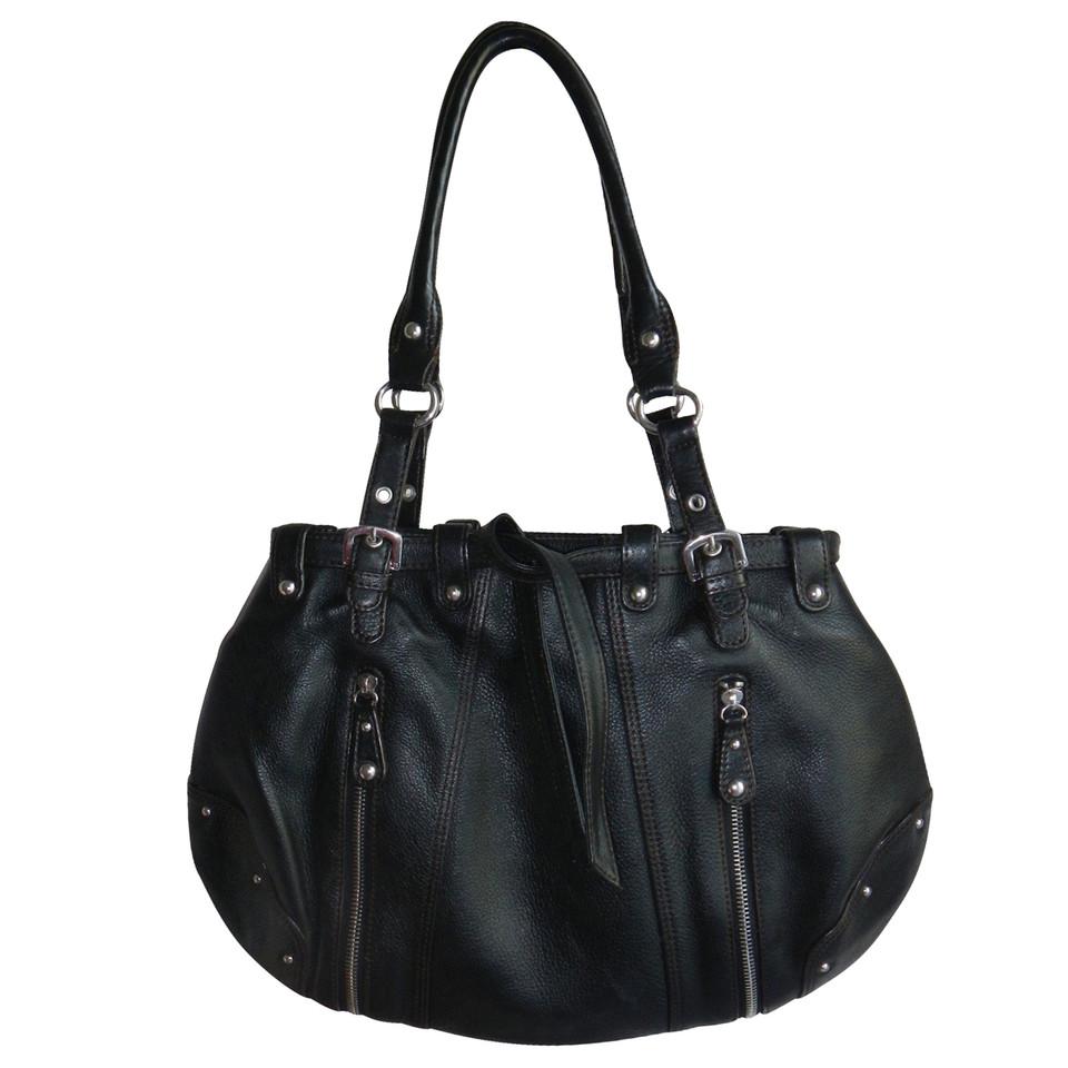 aigner lederhandtasche second hand aigner lederhandtasche gebraucht kaufen f r 115 00 2091451. Black Bedroom Furniture Sets. Home Design Ideas