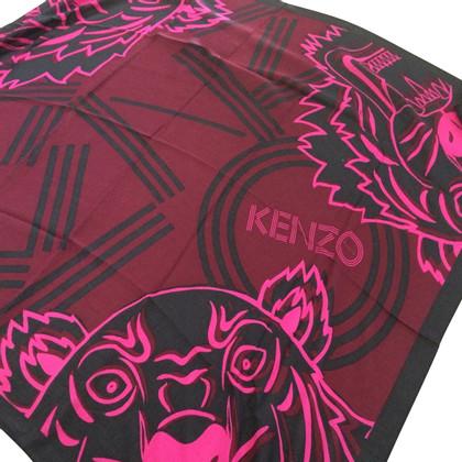 Kenzo Sjaal Kenzo Bordeaux
