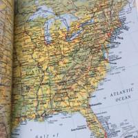 Tiffany & Co. World Atlas of Saffianoleder