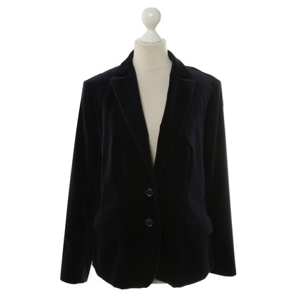 Hugo Boss Dark blue velvet Blazer