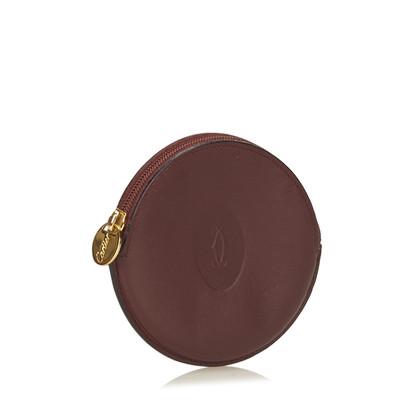 Cartier Bordeaux Must Line Coin Pouch