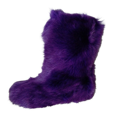 Moschino Cheap and Chic Fake Fur Boots