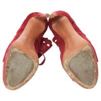 Alaïa Sandaletten aus Wildleder
