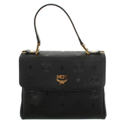 MCM Handbag made of textile in black