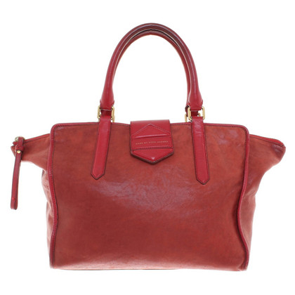 Marc by Marc Jacobs sac à main en cuir rouge