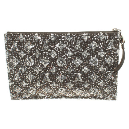Louis Vuitton Clutch mit Pailletten