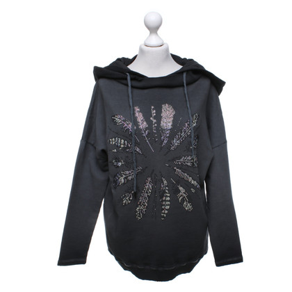 Camouflage Couture Hoody with rhinestone trim