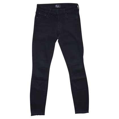 Mother Jeans Skinny in nero